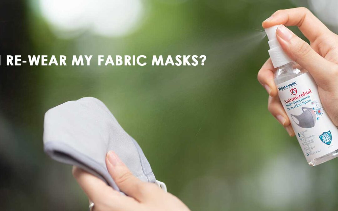 Can I re-wear my fabric masks?